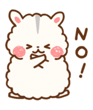 fluffy hamster2 sticker #9779067