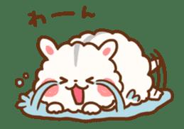 fluffy hamster2 sticker #9779075