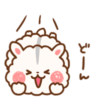 fluffy hamster2 sticker #9779091