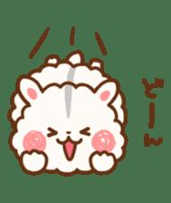 fluffy hamster2 sticker #9779091