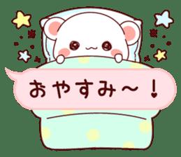 LOVE KUMA fukidashi sticker #9781023