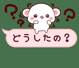 LOVE KUMA fukidashi sticker #9781031