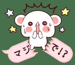 LOVE KUMA fukidashi sticker #9781033