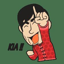 Asan Pek (Hokkien) - CNY sticker #9782942