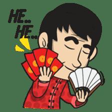 Asan Pek (Hokkien) - CNY sticker #9782950