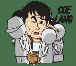Asan Pek (Hokkien) - CNY sticker #9782970