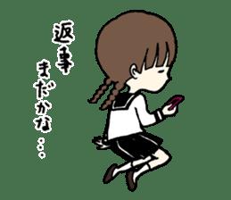 sailor schoolgirl sticker #9789418