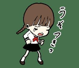 sailor schoolgirl sticker #9789423