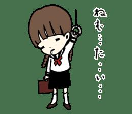 sailor schoolgirl sticker #9789426