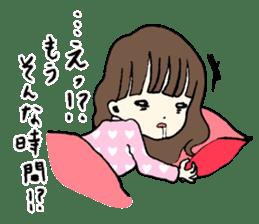 sailor schoolgirl sticker #9789429
