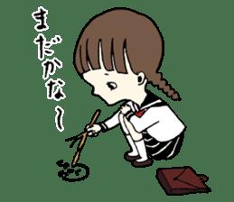 sailor schoolgirl sticker #9789436