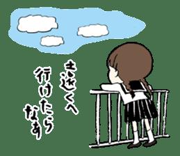 sailor schoolgirl sticker #9789440