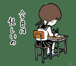 sailor schoolgirl sticker #9789442