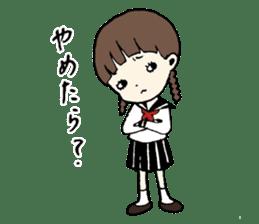 sailor schoolgirl sticker #9789443