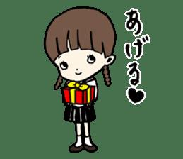 sailor schoolgirl sticker #9789448