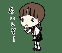 sailor schoolgirl sticker #9789449