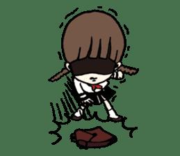 sailor schoolgirl sticker #9789453