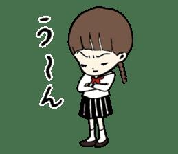sailor schoolgirl sticker #9789454