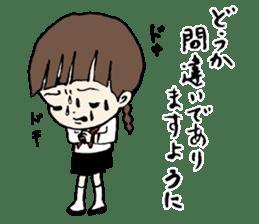 sailor schoolgirl sticker #9789455