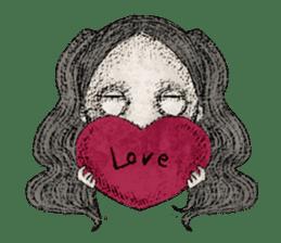 Dark Romantic sticker #9801189