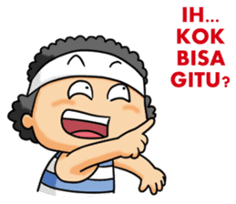 Mas Boi 2: Makin Gahol sticker #9802506