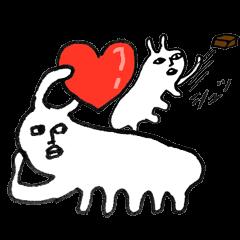 Sea slug of Valentine