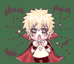 Nutty The Count Dracula Jr. [EN] sticker #9809851