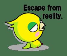 or parakeet english sticker #9812121