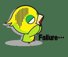 or parakeet english sticker #9812130