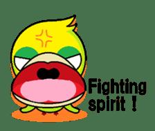 or parakeet english sticker #9812138