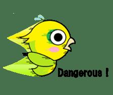 or parakeet english sticker #9812143