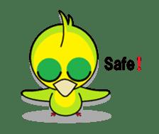 or parakeet english sticker #9812146