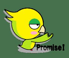 or parakeet english sticker #9812149
