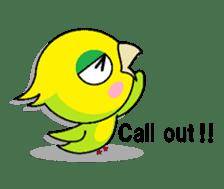 or parakeet english sticker #9812152