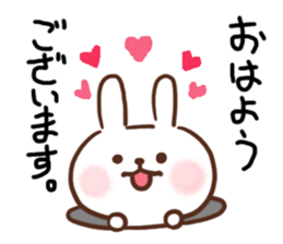 Little Rabbit Greetings sticker #9818800
