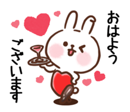 Little Rabbit Greetings sticker #9818804