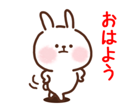 Little Rabbit Greetings sticker #9818805