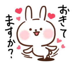 Little Rabbit Greetings sticker #9818809