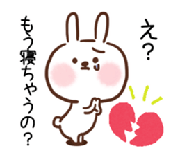 Little Rabbit Greetings sticker #9818829