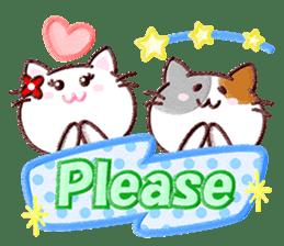 Pastel Cats sticker #9822774