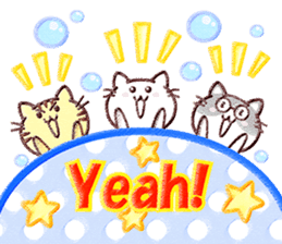 Pastel Cats sticker #9822777