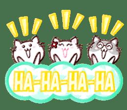 Pastel Cats sticker #9822792