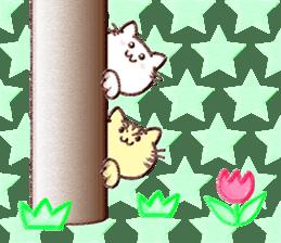 Pastel Cats sticker #9822795