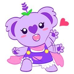 Purple Koala(Vol. Babble)-English