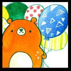 yururi, animal sticker