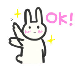 Bunny in love ! -ENGver- sticker #9834340
