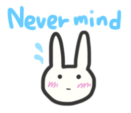 Bunny in love ! -ENGver- sticker #9834341