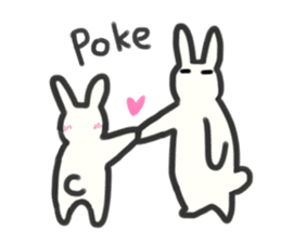 Bunny in love ! -ENGver- sticker #9834350