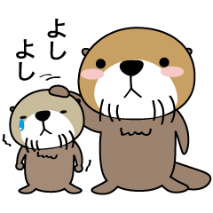 Every day of Sea otter(ver. My favorite)