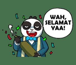 Wanara: Big Boss Panda sticker #9839302
